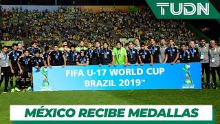 México recibe medallas de subcampeón | México 1 - 2 Brasil | Mundial Brasil Sub17 | TUDN