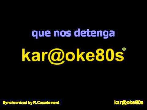 karaoke Y Ahora estilo M.Carrasco