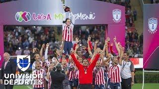 ¡Chivas, histórico primer campeón de la Liga MX femenil!