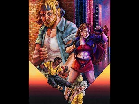 "Streets Of Rage 4 ""Adam Hunter"" - Playthrough"
