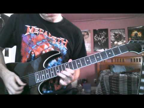 Judas Priest Dragonaut (Guitar Cover)