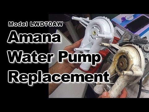 Amana Washer Leak Repair: Model LWD70AW