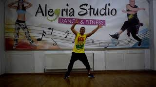 Carlos Rivera Ft  Gente De Zona - Lo Digo / Zumba choreo