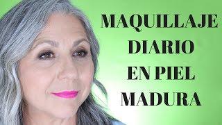 MAQUILLAJE DIARIO PARA PIEL MADURA  // Makeupmasde40  💋
