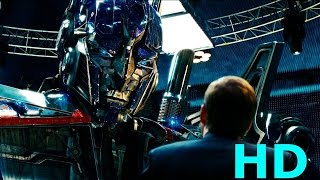 Optimus Prime N.E.S.T Base Scene - Transformers Revenge Of The Fallen-(2009) Movie Clip B ...
