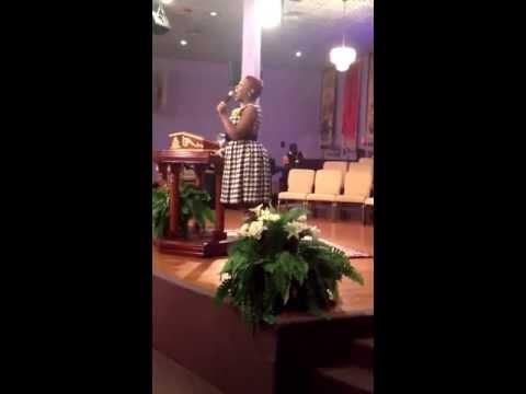 Minister LaRoya Brackins Sings Happy Birthday To CLCF