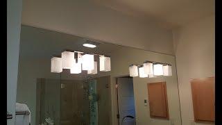 Vanity light installation trick. Замена светильника в ванне cмотреть видео онлайн бесплатно в высоком качестве - HDVIDEO
