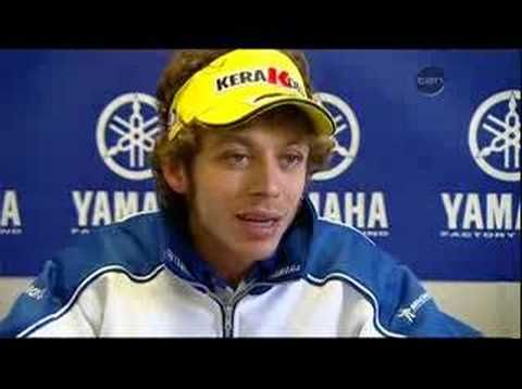 Rossi Interview: Possible Future Hint @ End