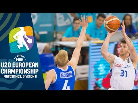 Czech Republic v Iceland - Full Game - FIBA U20 European Championship Division B 2019
