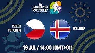 LIVE - Czech Republic v Iceland - FIBA U20 European Championship Division B 2019