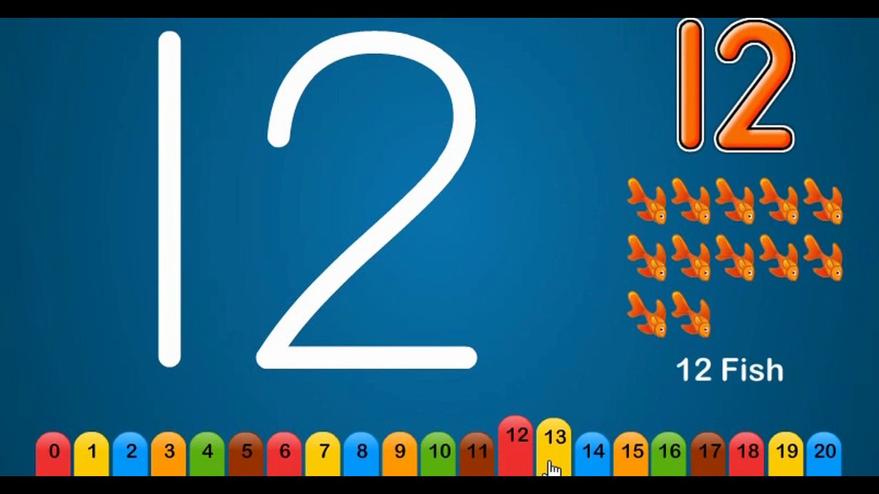 Numbers 1-20|Write Numbers 1-20|How to Write Numbers For Kids ...
