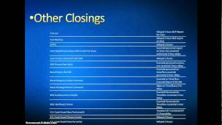 Closings And Delays