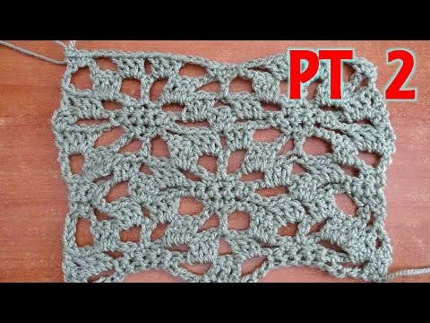Lacy Star PART 2 - Crochet Tutorial