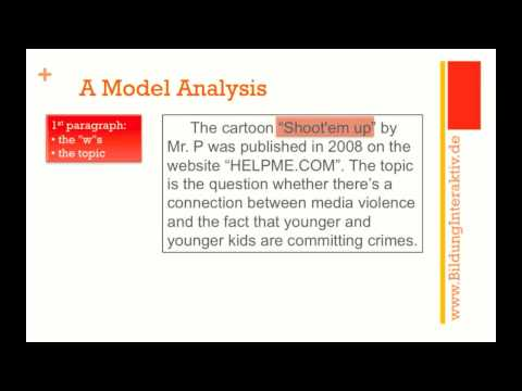 Cartoon Analysis part 3: a model analysis - Vorschauvideo
