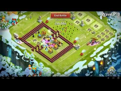 Castle Clash - Farming HBM P No Garrison