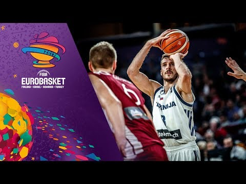 Slovenia v Latvia - Full Game - Quarter-Final - FIBA EuroBasket 2017