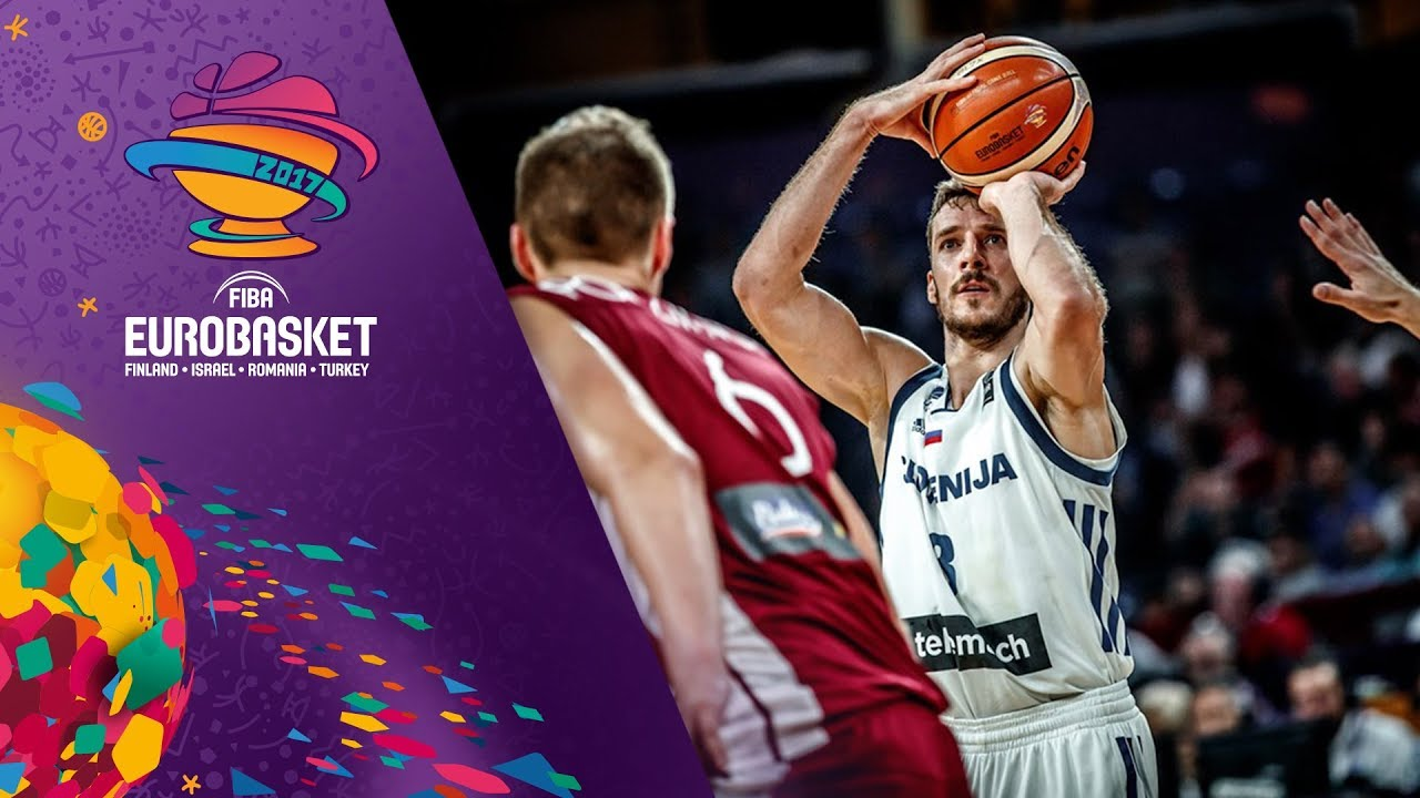 Slovenia v Latvia - Full Game - Quarter-Final