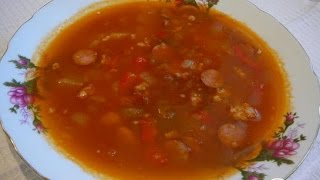 Мексиканский суп. Мексиканская кухня