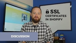 SSL Certificates in Shopify