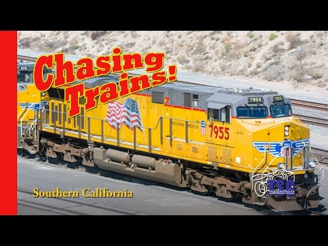 Chasing Trains! Episode 5 Southern California LMMRRC