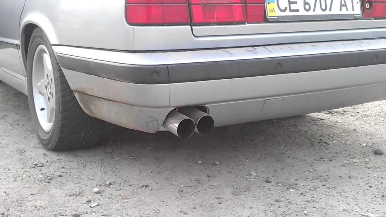BMW E34 525i Magnaflow 14815 exhaust 2