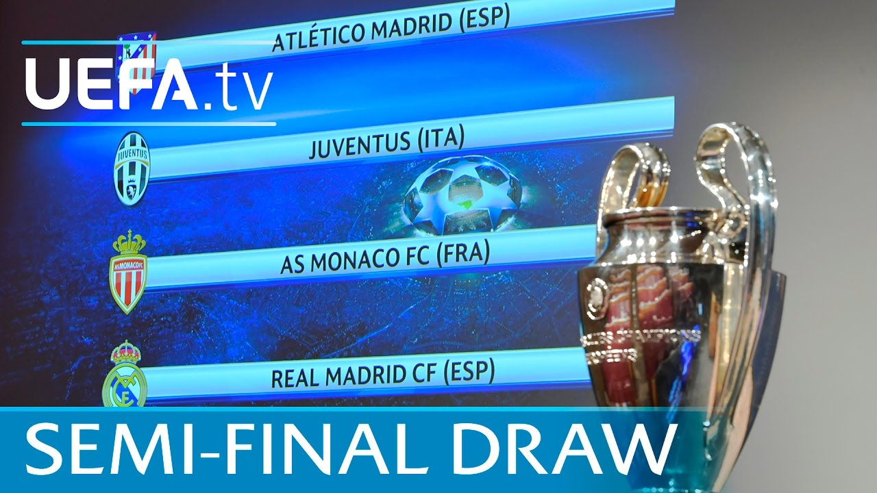 Watch The Full Uefa Champions League Semi Final Draw 2016 17 Youtube