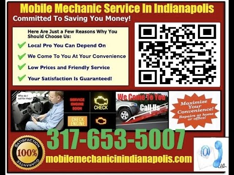 Mobile Mechanic Westfield IN 317-653-5007 Auto Car Repair Service