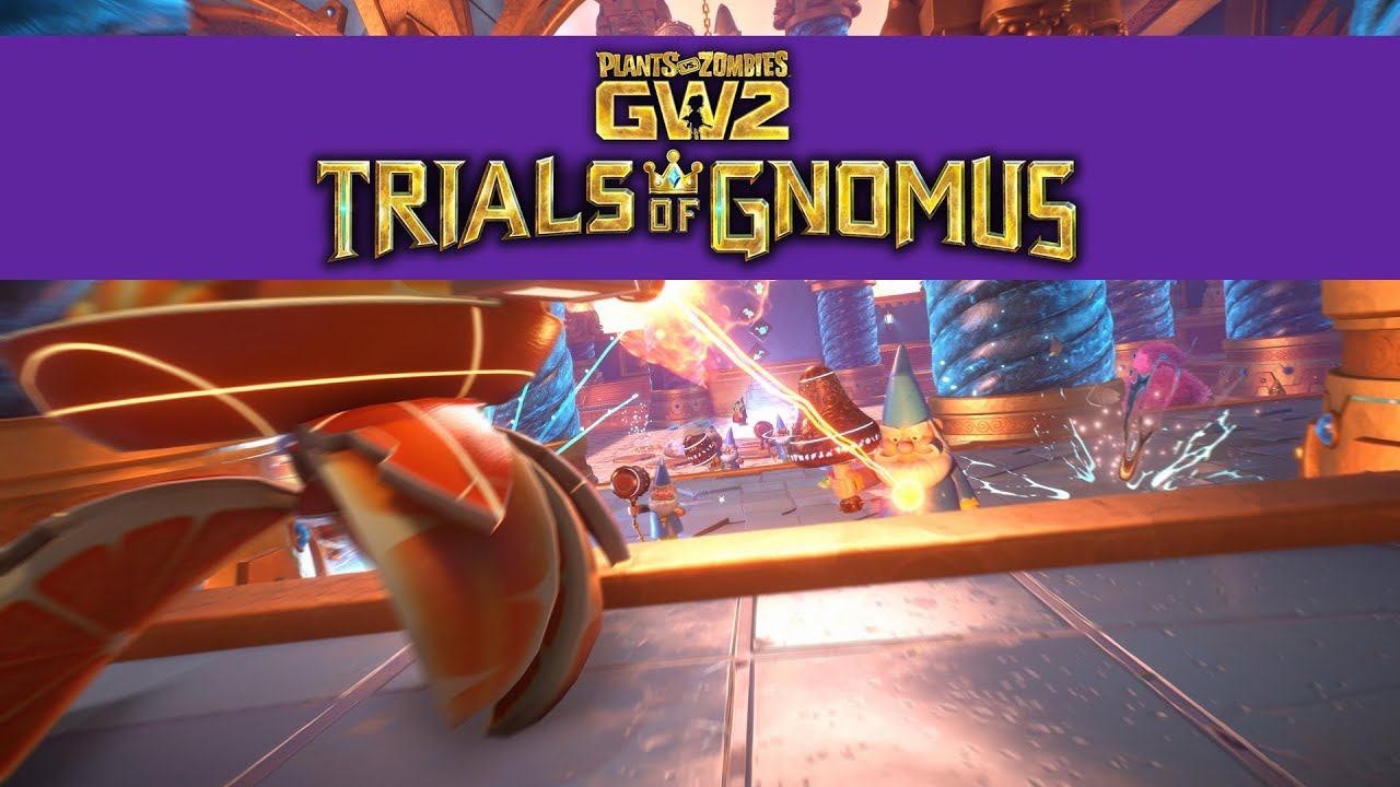 Trials Of Gnomus Gameplay Trailer Plants Vs Zombies Garden Warfare 2 Youtube