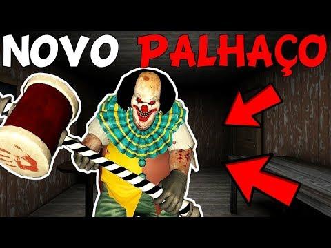 O NOVO PALHAÇO MAIS TERRIVEL QUE A GRANNY!! - Horror Clown Pennywise - (JOGO ESTILO GRANNY)