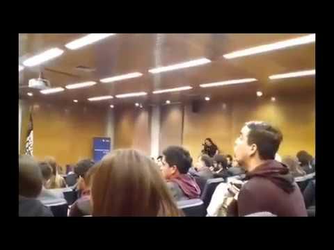 Rosa Maria Payá en Foro Universidad Central es interpelada p
