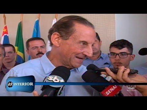 Paulo Skaf visita região de Rio Preto e inaugura mais uma unidade da escola do Sesi