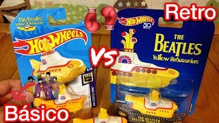 Скачать YELLOW SUBMARINE RETRO Vs BÁSICO HOT WHEELS THE BEATLES 459