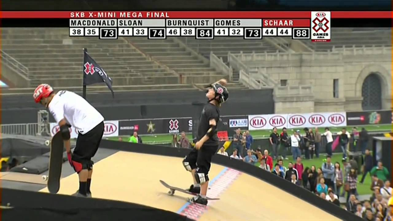 Roller skating x games - Tom Schaar Primo 1080 In Competizione Kia Asian X Games 2012