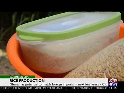 Rice Production - Business Live on JoyNews (7-9-17)