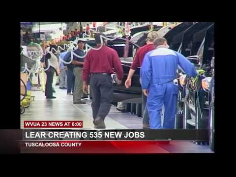Lear Corporation Expansion Bringing 535 Jobs