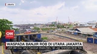 Waspada Banjir Rob di Utara Jakarta