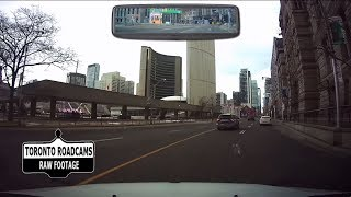 Driving in Toronto - Updated Tour of Downtown Toronto - Winter 2018