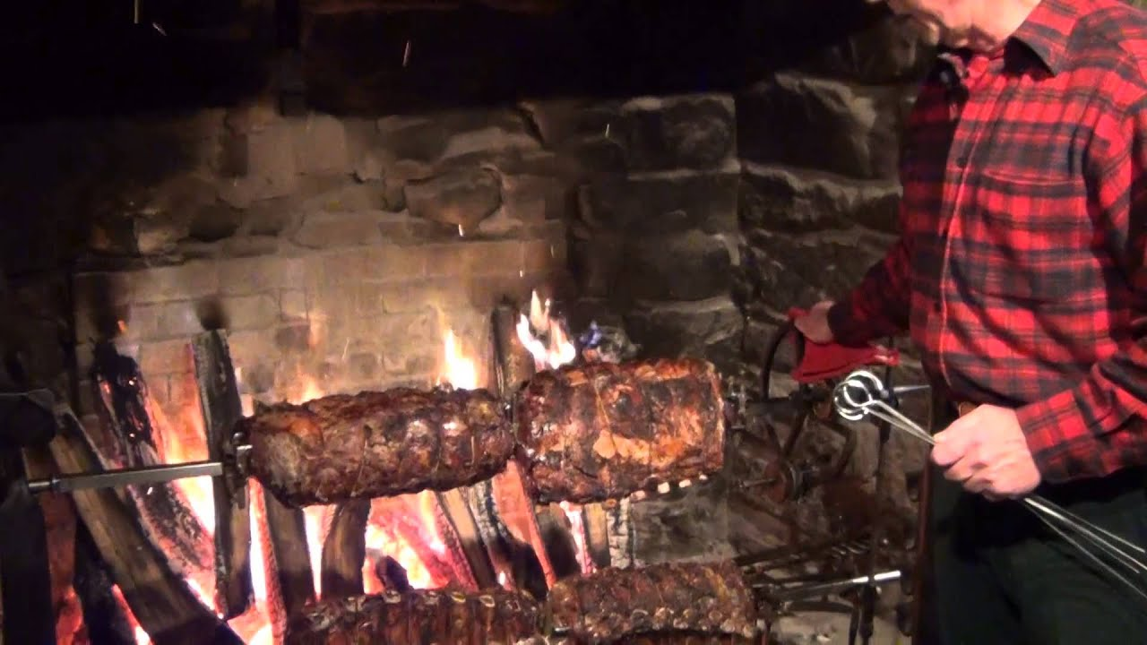 The Drovers Inn >> Roasting the Perfect Prime Rib at Salem Cross Inn in West Brookfield, MA - YouTube