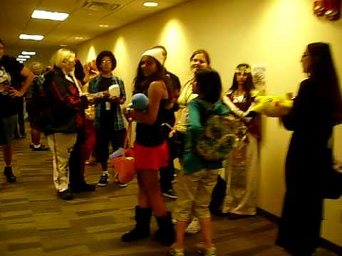 The line to see Veronica Taylor