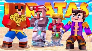 VEGETTA TRAFICA CON HUMANOS | Minecraft Piratas #9