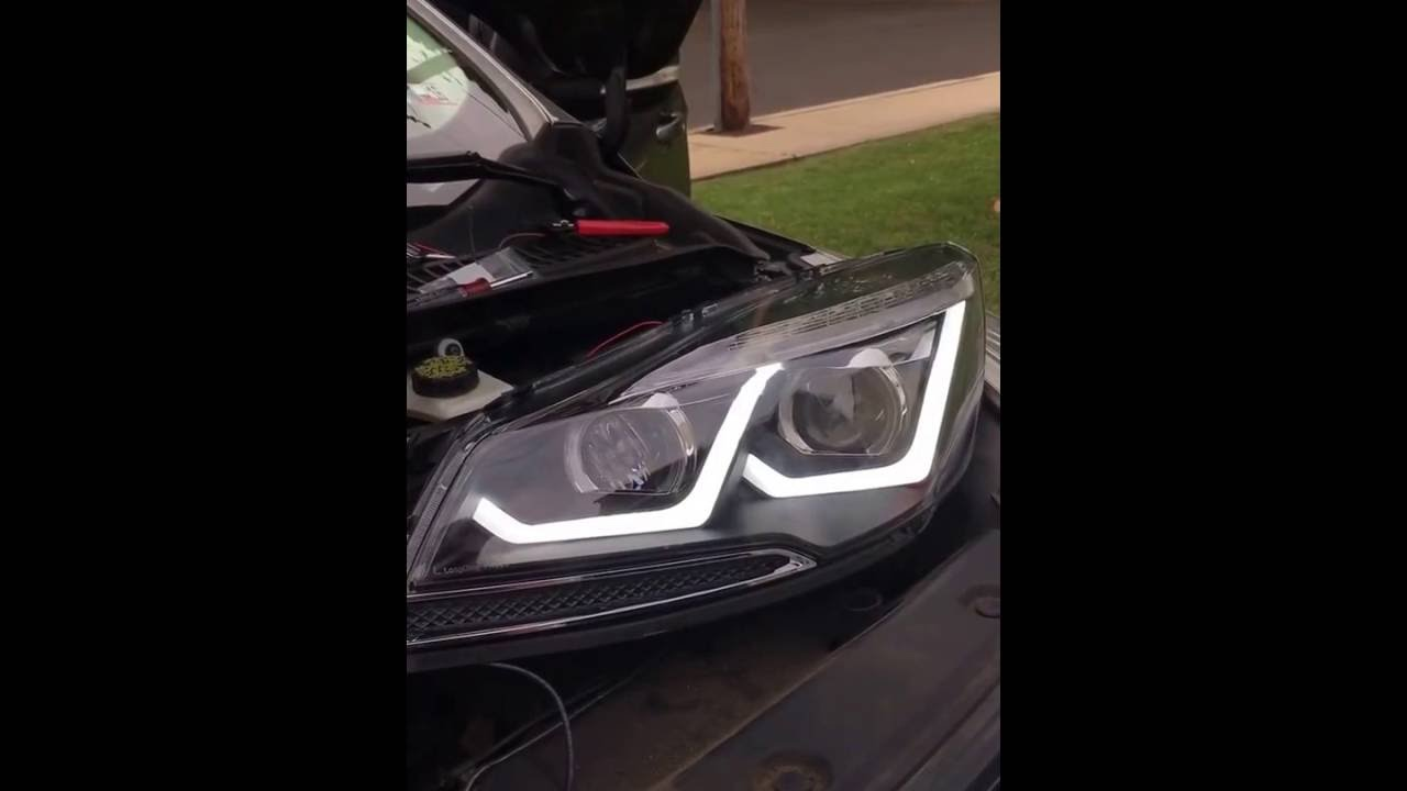 Aftermarket Headlight For My 2017 Escape Function Testing