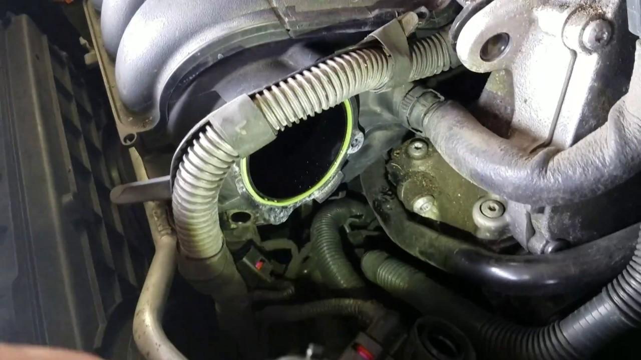 PART 1 P0106 VW 25L Jetta Manifold Sensor Implausible