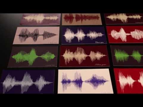 Bespoken Art: Sound Wave Art