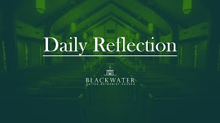 Daily Reflection: April 5, 2020