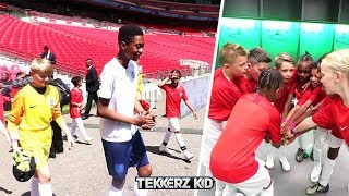 WEMBLEY MATCH! | Team Tekkerz Kid vs Team It