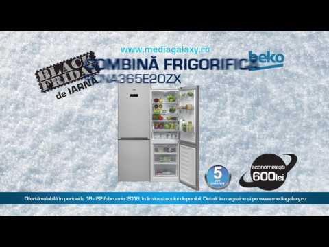 Reclamă Combină Beko - Black Friday - Media Galaxy