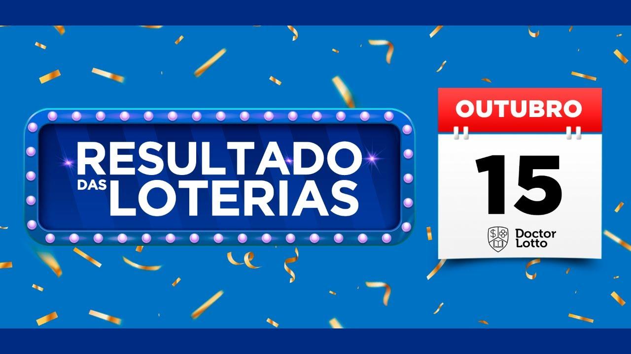 🔴 Loterias Caixa: Resultado da Lotofácil 2057 | Quina 5391  e mais | AO VIVO - 15/10