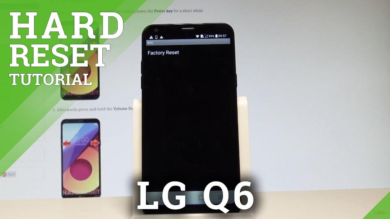 How to Hard Reset LG Q6 - Factory Reset Code |HardReset info