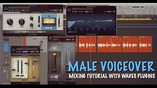 Male Voice-over Mixing Tutorial | Waves Plugins