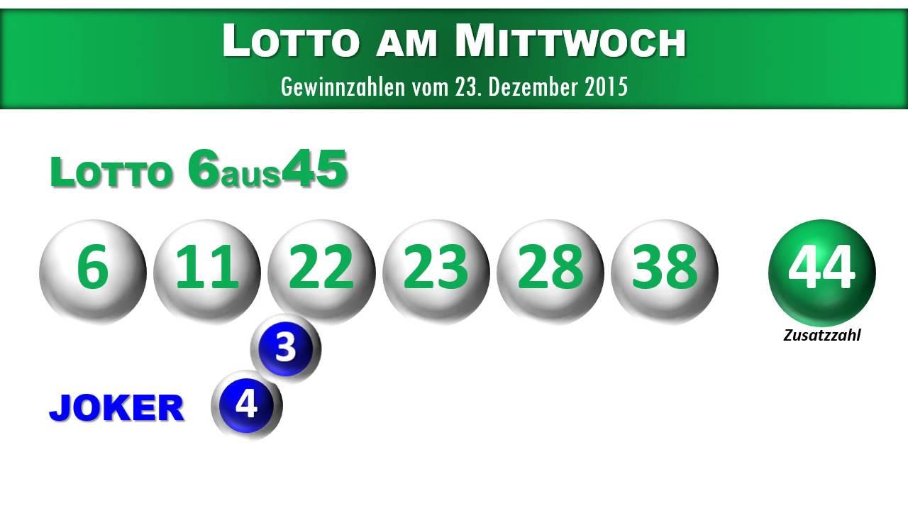 Lotto österreich 6 Aus 45 Gewinnzahlen Und Joker Vom 23